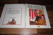 Colette Seigue+Doris Lauer -- WOHER KOMMT der WEIHNACHTSMANN ? // Carlsen 1987