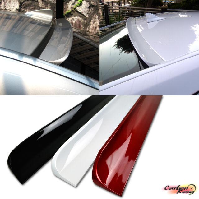 Painted Pure Black For ACURA TSX CU2 Sedan Rear Window