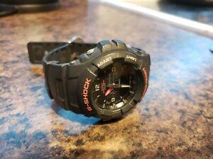 Read-Casio-G-Shock-G-100-2327-Analog-Digital-Black-Watch-G100-1BV