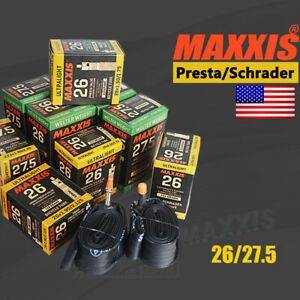 MAXXIS-Inner-Tube-26-27-5-034-MTB-Bike-Tire-Tyre-Bicycle-Tires-Tubes-Tube-32-48mm