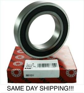 S6204-2RS Bearing 20mm x 47mm Stainless Steel 6204RS