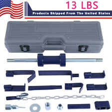 A 13lb Auto Body Dent Repair Bearing Axel Remover Set Slide Hammer Dent Puller