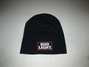 3e9f958aacf Bud Light Beer Beanie Stitched Winter Hat Bar Brewer Dilly Dilly ...