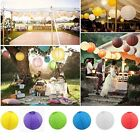 """Multicolor Chinese paper Lanterns 6"""" 8"""" 10"""" 12"""" 14"""" 16"""" Wedding Party Decoration"""
