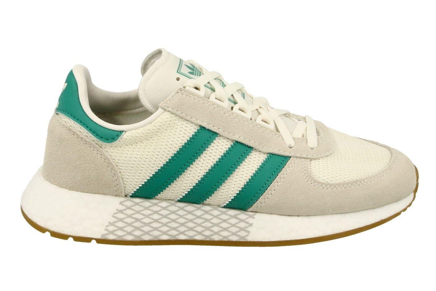 Adidas Originals Turnschuhe Marathon Tech Weiß   Grün   Braun