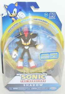 Sonic the Hedgehog SHADOW Action Figure SEALED Articulated Jakks Sega 2019