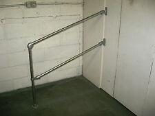 34mm Double Rail Variable Angle Handrail Hand Railing Handrailing Kit Grab Rail