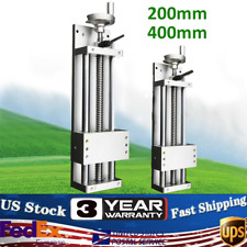 Manual Xyz Cnc Axis Sliding Table Linear Rail Stage Sfu1605 200400mm Strokes
