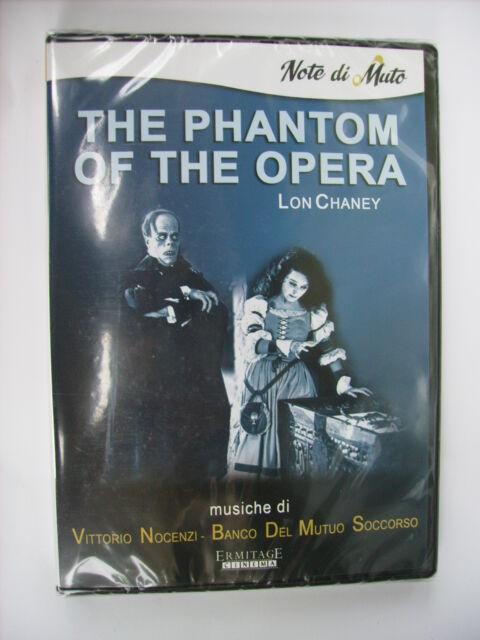 THE PHANTOM OF THE OPERA - DVD SIGILLATO - LON CHANEY - VITTORIO NOCENZI BANCO