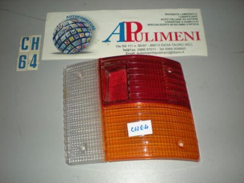 TRASPARENTE PLASTICA POSTERIORE REAR LAMPS DX AUTOBIANCHI A-112 75/>77 ARIC