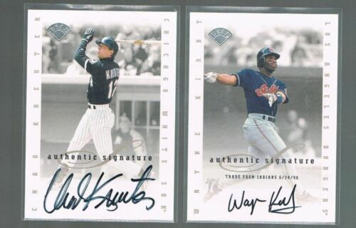 1996//96 Leaf Signatures EXT Auto CHAD KREUTER White Sox