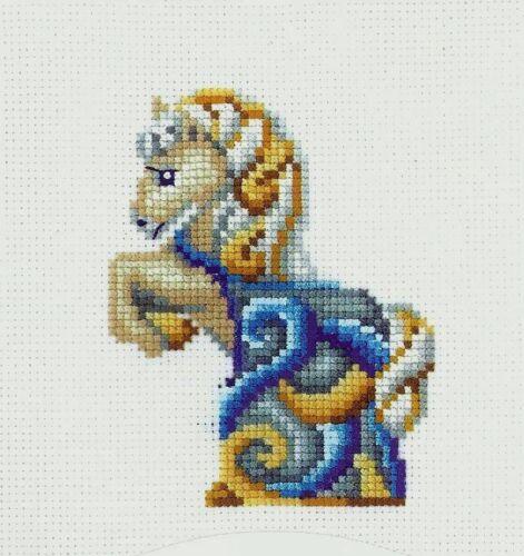 Cross Stitch Kit Horse art S-37