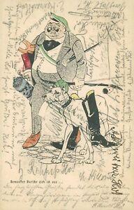 Ansichtskarte-Studentika-1904-Bemoster-Bursche-abgest-Stuttgart-Nr-754