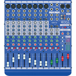 Like-N-E-W-Midas-DM12-Mixer-Auth-Dealer-Full-WARRANTY-Open-Box-Never-Used