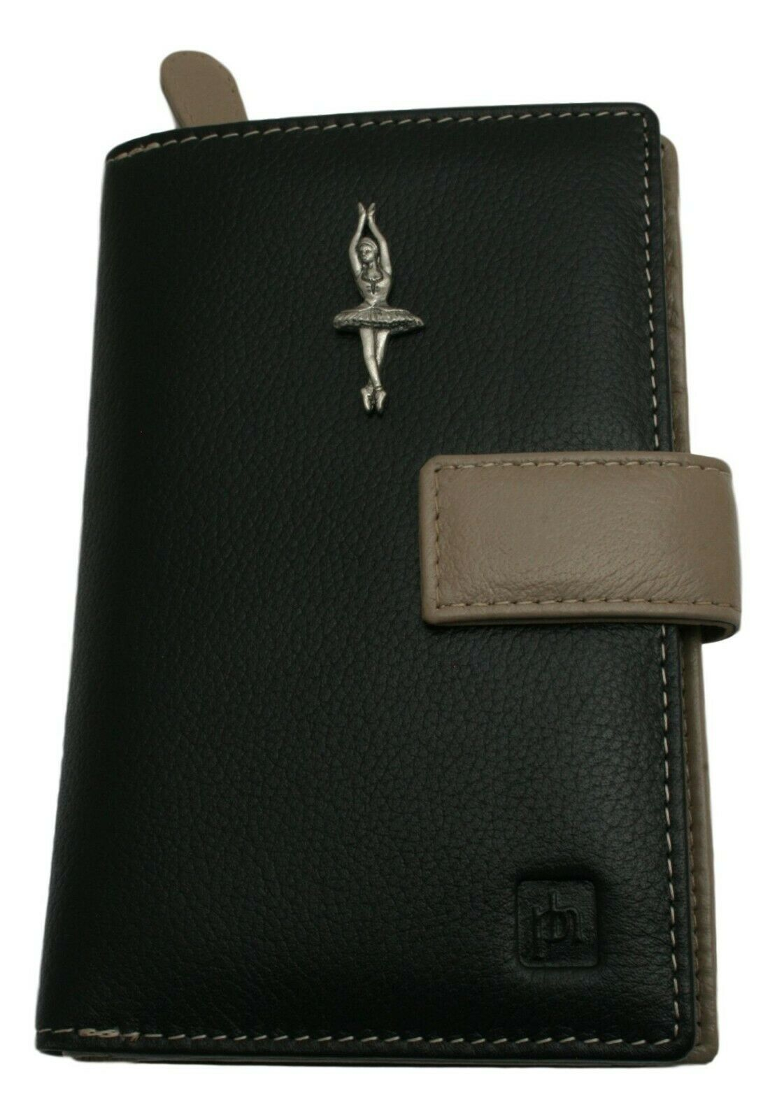 Ballerina Design Leather Purse with Zipped Pocket RFID Safe Gift 443