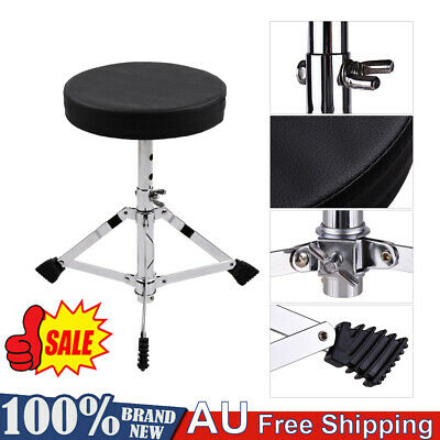 Drum Stool Throne Seat Thread Style Heavy Duty Padded Top DP Drums Universal    eBay