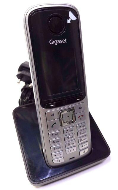 Gigaset S810 S810h Mobilteil & Ladeschale für S810A SX810 SX810A Top wie Neu!!