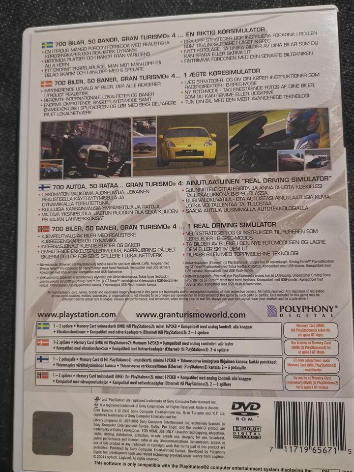 Gran Turismo 4, PS2, racing