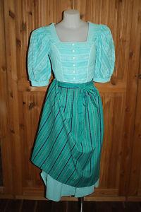 38 tradizionale impertinente Dirndl grazioso vestito Dirndl Kl2542 Vestito Ottimo Tz81v