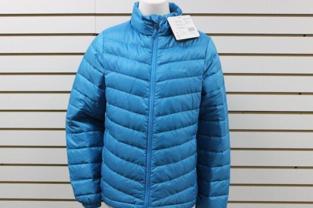 Women's Marmot 800 Fill Jena Down Jacket Aqua Blue 77660 Brand New With Tag