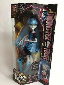 2014-Mattel-MONSTER-HIGH-freak-Ghoulia-yelps-Fashion-Doll-NIB-HTF