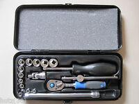Holex Steckschlüssel Garnitur 1/4″-vierkant 17tlg Art. 630167 Steckschlüssel Neu