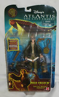 Disney Atlantis The Lost Empire: Milo Thatch Action Figure. On Card 2000