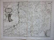 1692 LIMBURGO Coronelli Limburg Liege Maastricht Aachen Dalhem Kirchroa Jülich