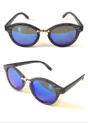 8252 UV400 Protect Ladies Sunglasses Retro Geek Metal Bridge Ocean Gradient Lens