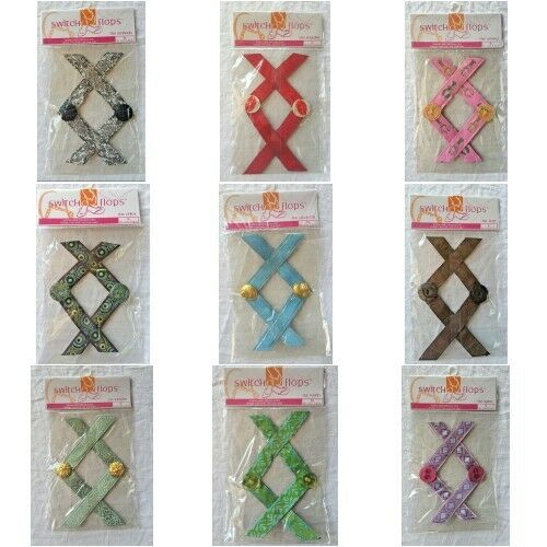 LULU Switchflops Accessory Straps Various Styles and Sizes