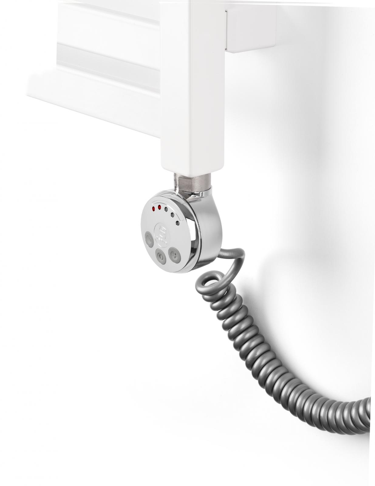 Mert Heizung gebogen elektrisch oder Warmwasser 1//2 Zoll Bad-Heizung 1200x400 Bad-Heizk/örper Mittelanschluss 50 mm wei/ß Handtuchhalter f/ür Wandmontage