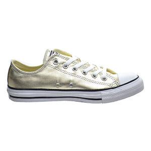 Star OX Unisex Shoes Light Gold-White
