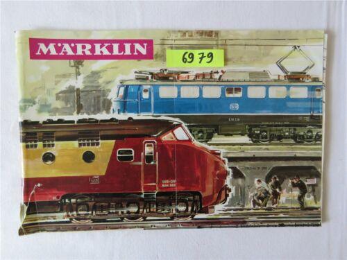 Märklin Modelleisenbahn Katalog 1965/66 D DM Original mit Gutschein