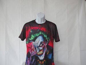 04948a9d9e45 Joker - 3D Big Graphic Colorful Harajuko Shirt - Asian Sizes M to ...