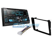 NEW KENWOOD CAR STEREO RADIO TUNER W/ INSTALLATION KIT USB/AUX INP & SIRIUS XM