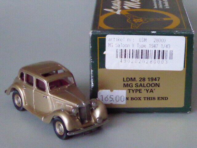 tienda de venta en línea Lansdowne Lansdowne Lansdowne 28 MG Saloon Type  YA  '47 n Brooklin 1 43  envío rápido en todo el mundo