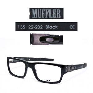 93d85023ba515 Oakley MUFFLER 22-202 Black 53 18 135 Eyeglasses Rx - New