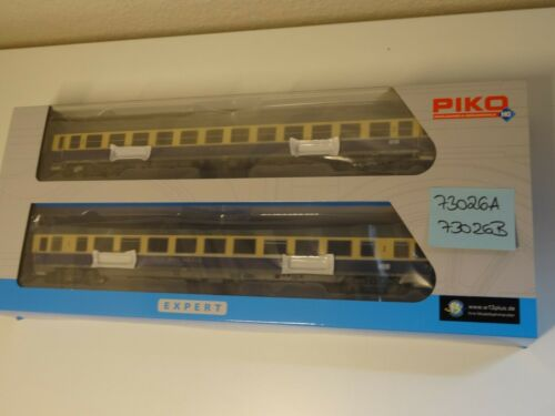 Piko HO Artikel 73026 A+B So-Serie Wilde 13 IC Schnellzugwagen DB neu//OVP