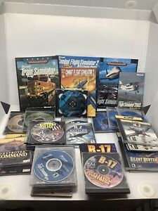 Huge-Lot-Of-PC-Simulator-Games-And-Guides-Trains-Planes-Ships