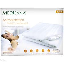Medisana Wärmeunterbett 150x80cm Weiß Heizdecke Wärmedecke Wärmebett Heizmatte