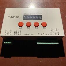 New Listingk 1000c Controller K1000c Ws2812b Ws2811 Apa102 T1000s Ws2813 Led 2048 Pixe9