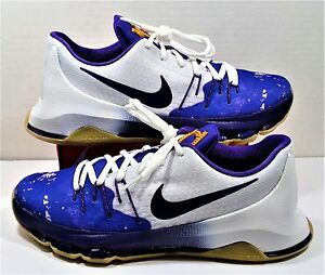 ab1f52a0fabe Nike KD 8 VIII GS Kevin Durant Peanut Butter Jelly Purple Sz 7Y NEW ...