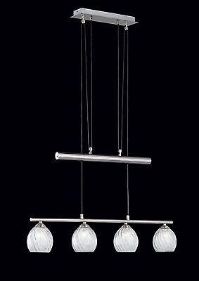 TRIO PENDELLAMPE JOJO 4x28W 80CM 313510400 PENDELLEUCHTE G9 HÄNGELAMPE LED LAMPE