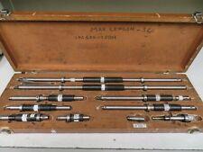 Starrett Model 128az Inside Micrometer Set 6 78 001 Ni16