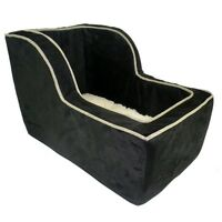 Snoozer Large High-back Suv Console Pet Dog Car Booster Seats Black/herringbone