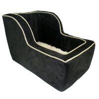 Snoozer Large High-back Suv Console Pet Dog Car Booster Seats Black/herringbone