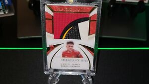 2020 Panini Immaculate Soccer Daniel James 15/15 In the Game Patch UEFA Logo