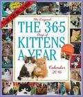 The 365 Kittens-a-year Picture-a-day Wall Calendar by Workman Publishing