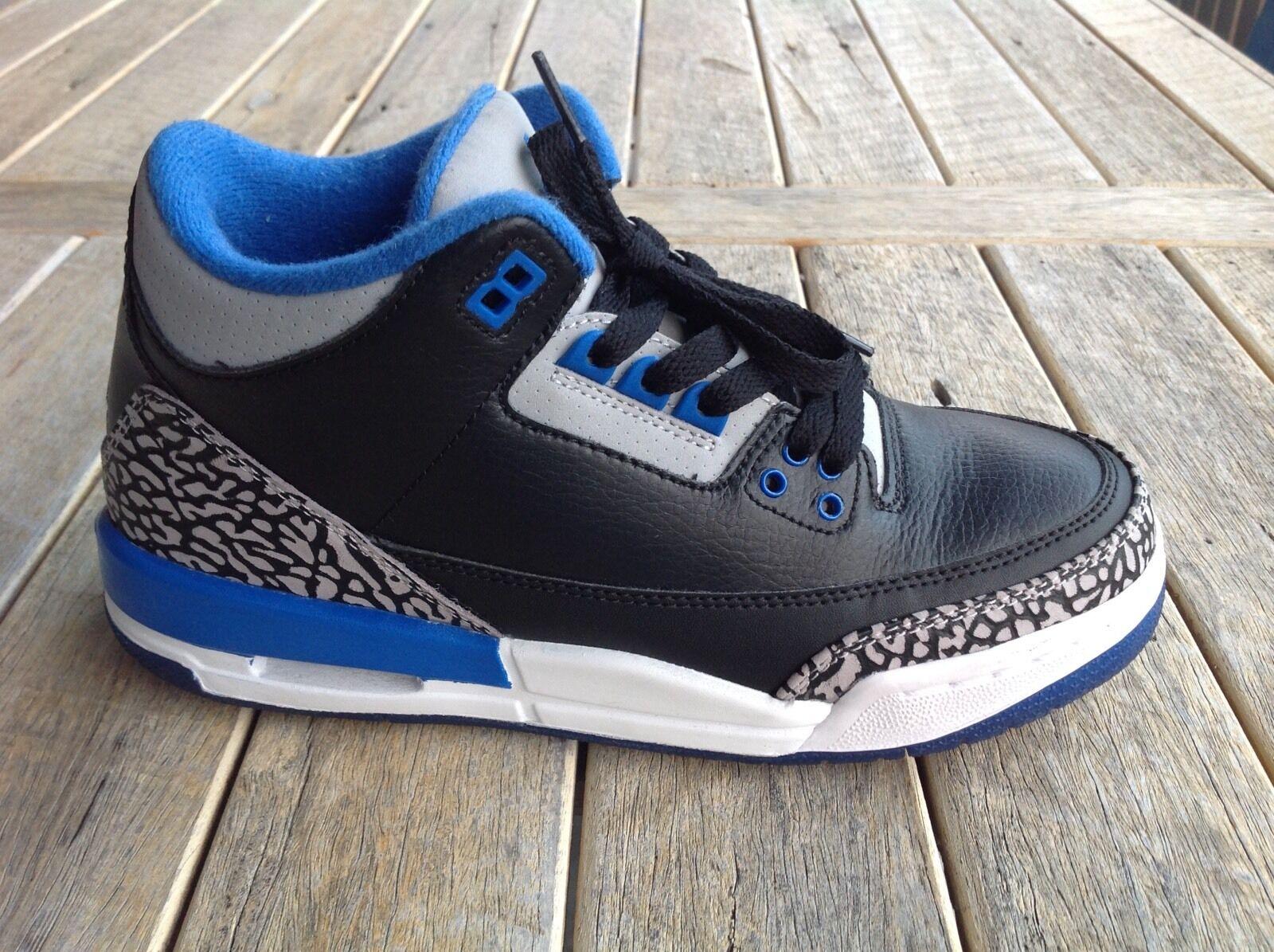 separation shoes 746fc 2c0b6 Nike Air Jordan mujeres 3 retro Sport azul mujeres Jordan es cómodo  confortable y atractivo d75d8b