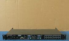 IBM 41Y9318 41Y9315 - IP 16 Port KVM Console 1U Rackmount Switch